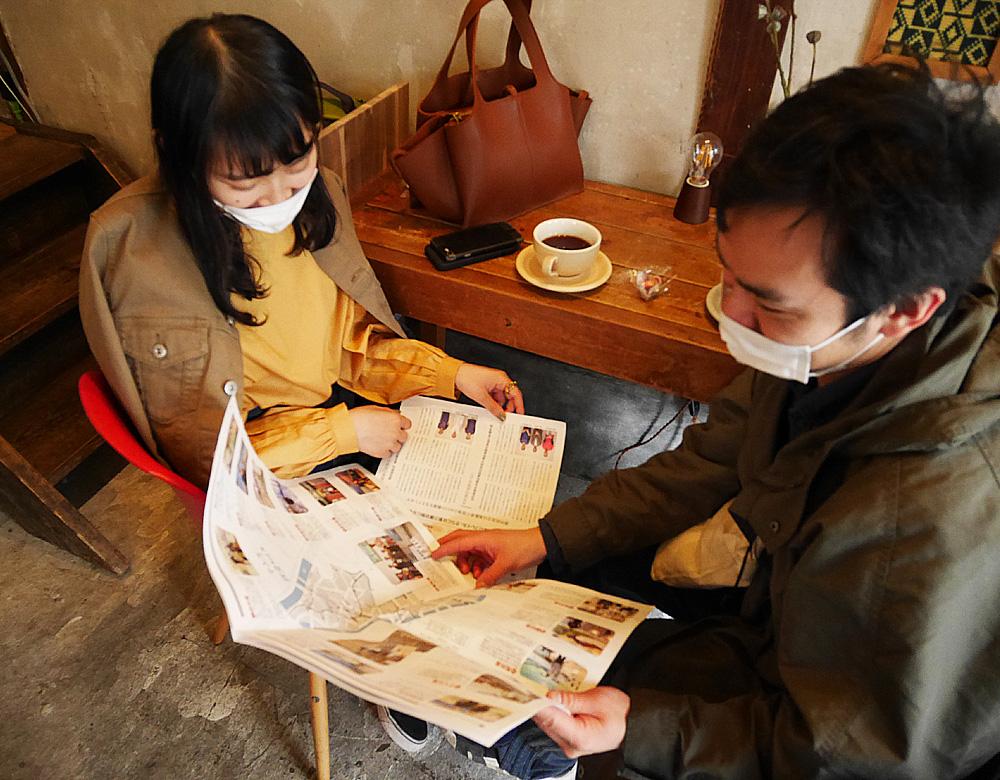 ムームーコーヒー爬虫類館分館吉田さん