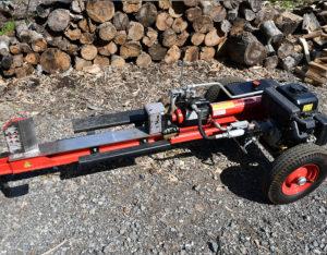 エンジン薪割り機
